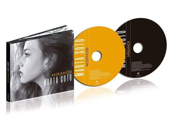 Marta Soto reedita 'Míranos', el próximo 5 de julio, con un segundo CD de acústicos