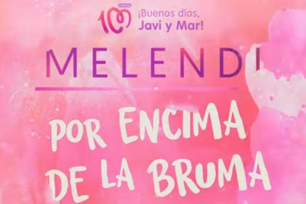 'Por Encima de la Bruma' de Melendi, el himno de Cadena 100 Por Ellas 2019, es un año más éxito en ventas digitales