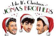 Jonas Brothers anuncian tema navideño para el 8 de noviembre, 'Like It's Christmas'