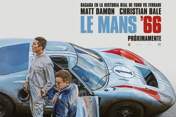 'Ford v Ferrari' consigue el #1 en el Box Office americano con más de 30 millones de dólares