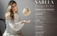Sabela anuncia 7 firmas de discos para su primer álbum, 'Despedida'
