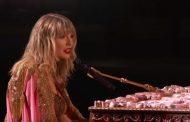 Ya disponible en YouTube el vídeo con la actuación completa de Taylor Swift, en los American Music Awards