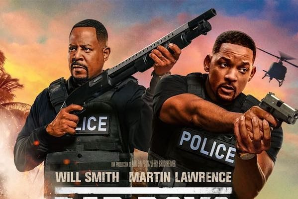 'Bad Boys For Life' repite por tercera semana como la película más taquillera del fin de semana, en los Estados Unidos