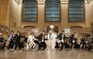 BTS actúan en la Grand Central Terminal de Nueva York, en el programa de Jimmy Fallon