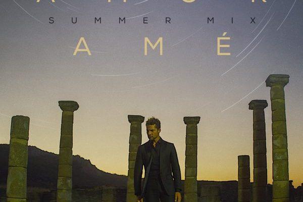 David Bisbal estrena mañana viernes 7 de agosto, nueva versión Summer Mix de 'Amor Amé'