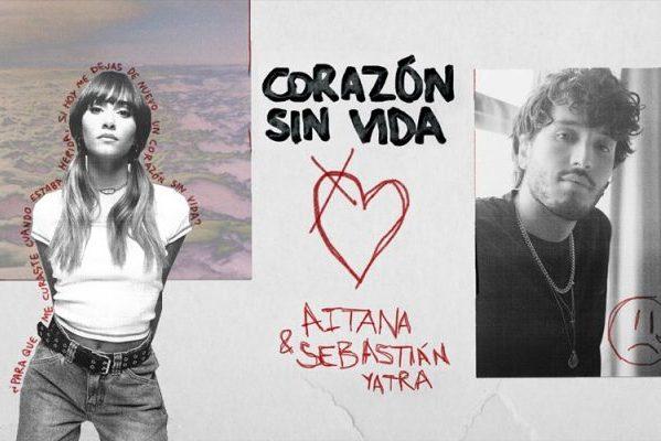 Aitana con Sebastián Yatra, Shawn Mendes, Anaju y Julia Michaels, en las canciones de la semana