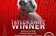 Taylor Swift se corona en los American Music Awards con 3 premios, incluyendo por sexto año, el de 'Artista del Año'
