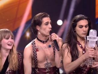 Måneskin Eurovisión