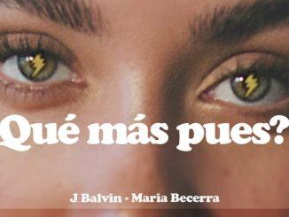J Balvin María Becerra