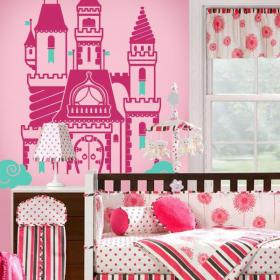 Vinilos Decorativos Castillo Princesa