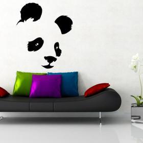 Vinilo Decorativo Oso Panda