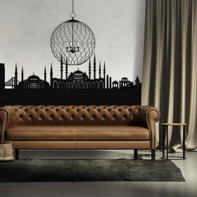 Vinilo Decorativo Skyline Istanbul