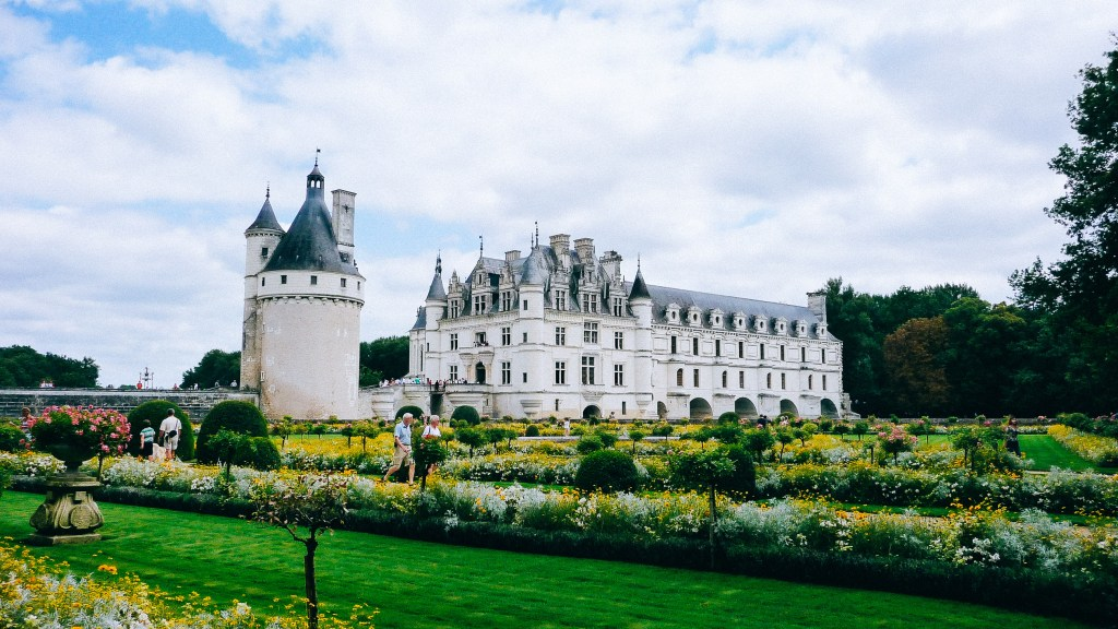 Chateau de la Loire, France, Travel Photography, Vin Images