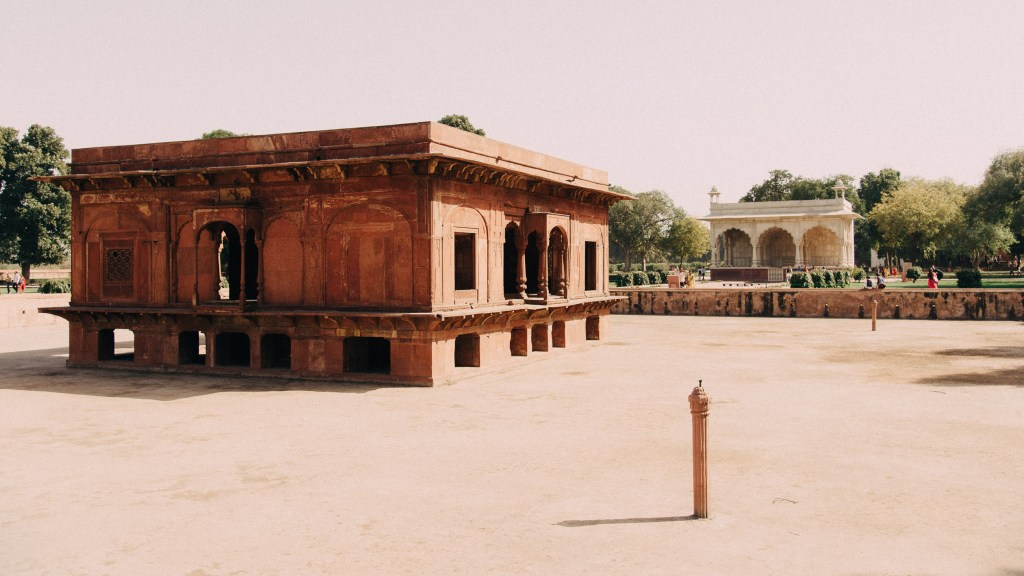 Delhi Red Fort, India, Travel Photography, Vin Images