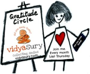 Grateful for Yesterdays! #GratitudeCircle