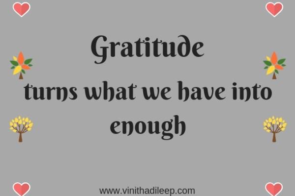 Today I am Grateful for… #WorldGratitudeDay #FridayReflections