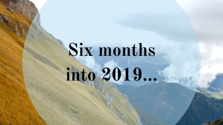 Six months into 2019…