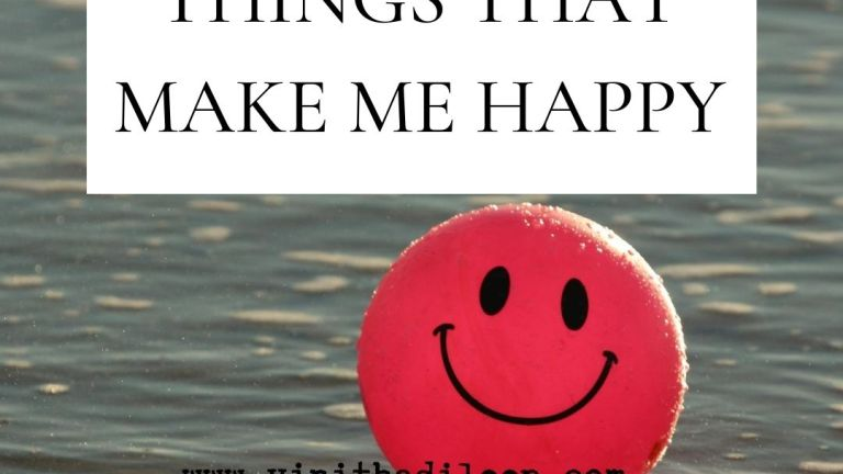 30 things that make me happy