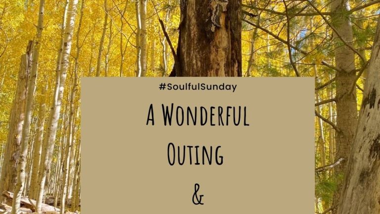 A Wonderful Outing and Some Reflections #SoulfulSunday