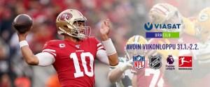NFL Super Bowl LIV sunnuntaina Viaplayssa ja Viasat Urheilu -kanavalla