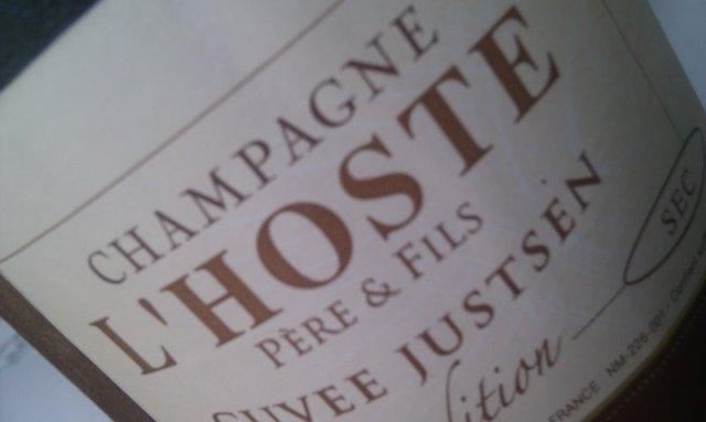 Champagne Sec