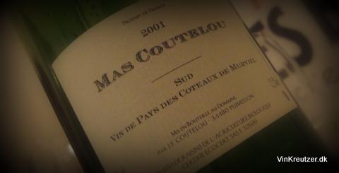 2001 Mas Coutelou, VdP des Coteaux de Murvel