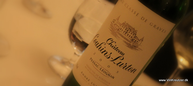 2005 Chateau Couhins-Lurton, Grand Cru Classé, Pessac-Leognan