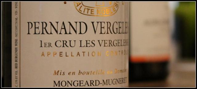 2010 Mongeard-Mugneret, Pernand Vergelesses, Les Vergelesses 1'er Cru