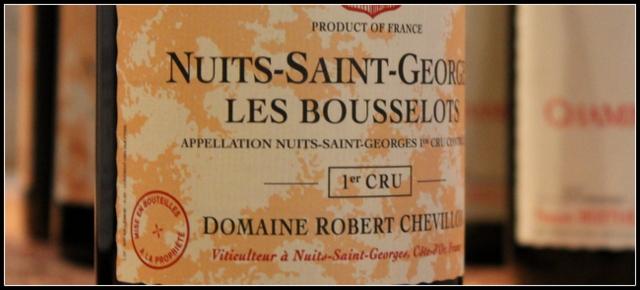 2010 Robert Chevillon, Bousselots 1'er Cru, Nuits-Saint-Georges