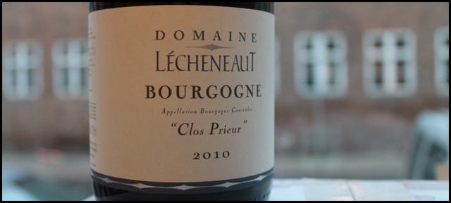 2010 Philippe et Vincent Lecheneaut, Clos Prieur,