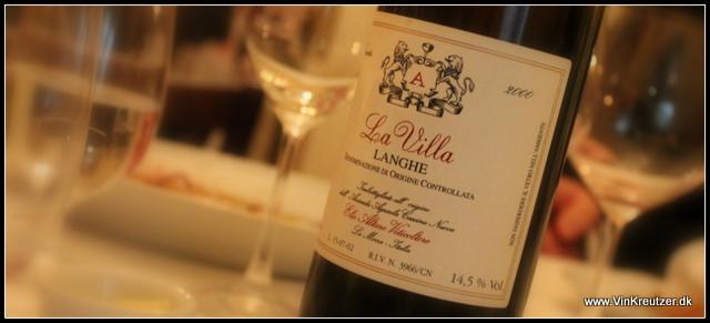 2000 Elio Altare, La Villa, Langhe rosse, Piemonte
