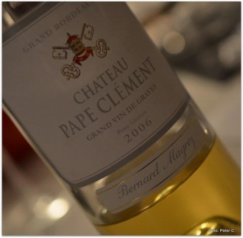 2006 Chateau Pape Clement, Blanc, Pessac-Leognan