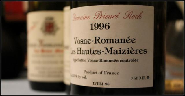 1996 Dom Prieuré Roch, Les Hautes-Maizieres, 1'er cru, Vosne-Romanée