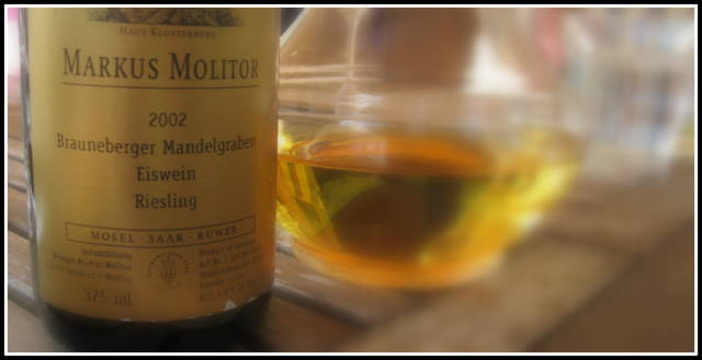 Eiswein Molitor mosel