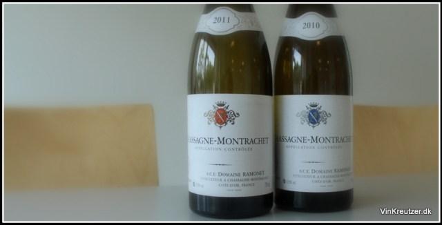 Rød og hvid Chassagne Montrachet fra Domaine Ramonet