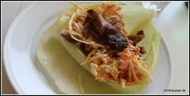 Pulled pork, serveret i et balnceret kålblad - det er Palæo der virker!