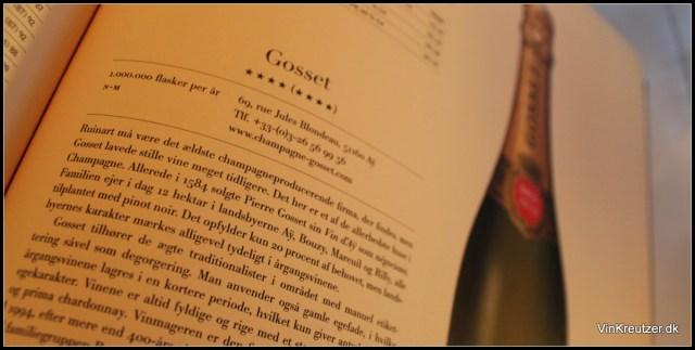 Tekst om Gosset Champagne