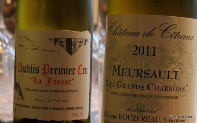 Chardonnay i Bourgogne