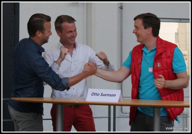 Henrik Holten Olsen - Anders Bühring - Frederik Kreutzer 3 glade vindere