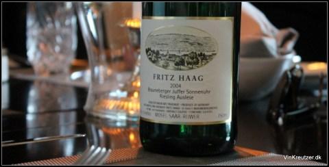 2004 Fritz Haag, Brauneberger Juffer Sonnenuhr Auslese