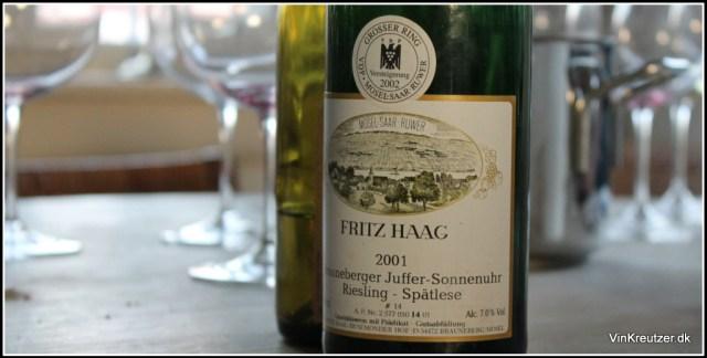 2001 Fritz Haag i topform