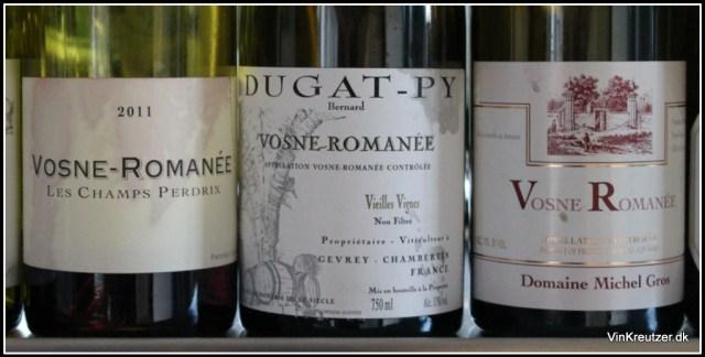 Plads 13 - 16: Cossard, Dugat-Py og Michel Gros