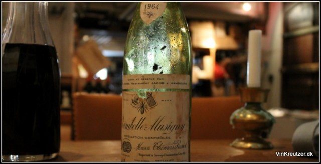 1964 Chambolle Musigny