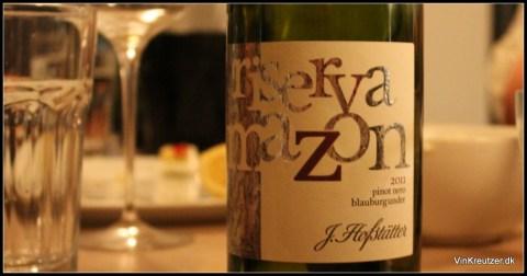 Hofstätter Pinot Nero