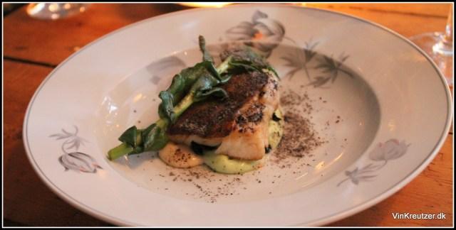 Skindstegt torsk Ditto Restaurant
