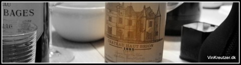1985 Haut Brion
