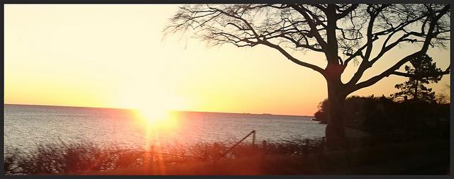 Solopgang Øresund