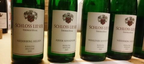 Spatlese Schloss Lieser