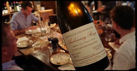 Vinsmagning Champenois