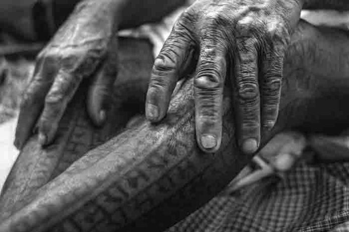 শরীরজুড়ে রাম নামের উল্কি, প্রাচীন ইতিহাস শরীরে বহন করে চলেছে এই ভারতীয় আদিবাসী সমাজ